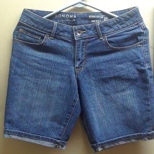 Pants - SONOMA WOMEN'S MID RISE SHORT